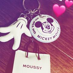 キーチャーム/MOUSSY/ファッション/娘 短大合格 大好きなmoussyの… Keyチャーム…