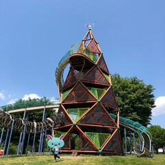 公園/タケノコタワー/いっぺんに沢山作れる水風船/赤城山/おでかけ ゴールデンウィーク 帰省中 今日は赤城山…
