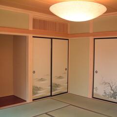 和室 本格的な和室もめずらしくなりました。