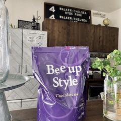 Bee up Style Chocolate風味 | Bee up Style(ソイプロテイン)を使ったクチコミ「新ボディーメイクプロテイン「ビーアップス…」(1枚目)