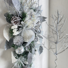 christmasdecorations/Christmasdecor/Christmas/クリスマスリース/ウォールデコ/クリスマスプレゼント/... クリスマス雑貨をどんどんUPしてます🎄 …(1枚目)