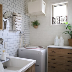 VARIERA ヴァリエラ | イケア(その他キッチン収納)を使ったクチコミ「サニタリーチェストの引き出しのシートを張…」