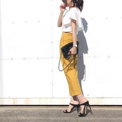 オトナ女子/パンツコーデ/コーデ/今日のコーデ/ファッション 梅雨入りしましたね。 basement …