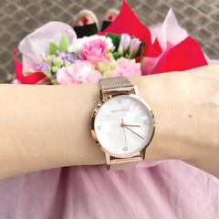 手元コーデ/今日のコーデ/腕時計/ファッション monogriis さんの時計♡  Ka…