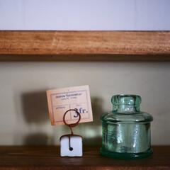 雑貨/雑貨だいすき/antique/アンティーク/ビンテージ/古道具/... アンティークショップで購入したカードホル…