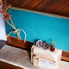 男前インテリア/インテリア/雑貨/黒板/古材 古材と野地板でマグネットも付く黒板をDI…