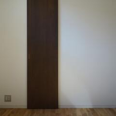 WIC/ウォークインクローゼット/シンプル/新築/注文住宅 主寝室にはWIC(ウォークインクローゼッ…