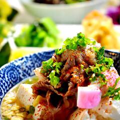 切り干し大根/小松菜ナムル/茄子の揚げ浸し/肉吸い/献立/夕飯/... こんばんは^ ^ 今夜の夕飯です。 今日…