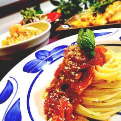 ボロネーゼ/おうちごはん/グルメ/フード 幸せお家ご飯^ ^  スパゲッティボロネ…