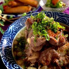 春巻き/海老とキューリの酢の物/肉吸い/フォロー大歓迎 こんばんは^ ^ 今夜の夕飯です^ ^ …