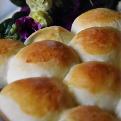 クリームパン/おやつタイム/手作りパン/フワフワ 昨日はパンも焼けたゆっくりな1日でした^…