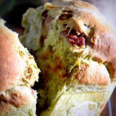 リミアな暮らし/よもぎパウダー/おうちパン/食パン/よもぎ/こし餡 おはようございます😊  今日も清々しい朝…