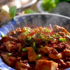 焼ビーフン/ブロッコリーナムル/リミアな暮らし/麻婆豆腐/食事情/フォロー大歓迎 今夜の夕飯です^ ^  今日も温かな一日…