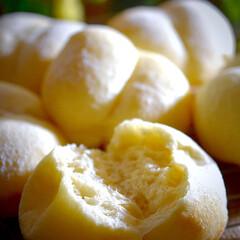 リミアな暮らし/パン作り/おうちパン/手作りパン/おしりパン/白パン おしりパン焼けましたよぅ^ ^  今日久…