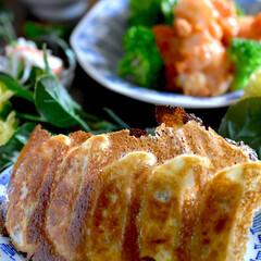 リミアな暮らし/お味噌汁/酢の物/エビマヨ/餃子 こんばんは^ ^  今日の一日は暖かくて…
