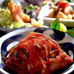 エビフライ/お味噌汁/リミアな暮らし/筑前煮/金目鯛の煮付け 皆様こんばんは^ ^  昨日から少し風が…