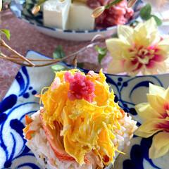 湯豆腐/献立/雛祭り/リミアな暮らし/ちらし寿司/ピンク こんばんは^ ^  もうすぐ雛祭り🎎 毎…