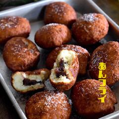 カリカリ/和製ドーナツ/アンドーナツ/おうちおやつ/フライ/餡フライ/... 暫く前から餡フライが食べたくてたまらなく…