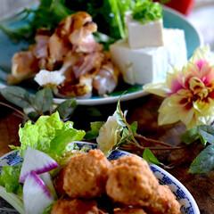 炙り焼き鶏の水炊き/肉団子唐揚げ/リミアの冬暮らし/フォロー大歓迎 皆様こんばんは^ ^  結局、夕方から雨…