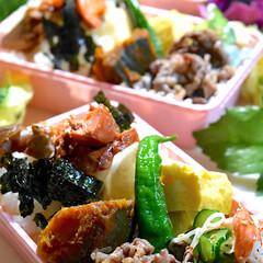 遠足/お弁当/フォロー大歓迎 おはようございます😊 今日のお弁当です …(1枚目)