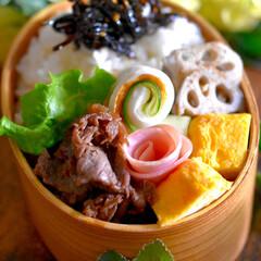リミアな暮らし/フォロー大歓迎/牛肉佃煮/お弁当 おはようございます😊  良いお天気スター…