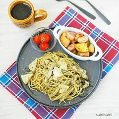 盛り付け/器/食卓/手作り/レシピ/料理/... 夏と言えばバジル! バジルと言えばジェノ…