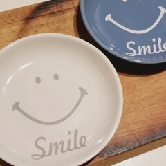 ミネラルメイク/ETVOS/お肌のお手入れ/ワクワクしちゃう/smileなお皿/セリア 無地の食器ばかりの我が家に セリアから …