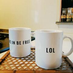 ロンハーマン/マグカップ おはようございます♪  朝は必ず コーヒ…