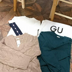 GU/3COINS/ファッション 3COINSのピアス 秋らしいですね(2枚目)