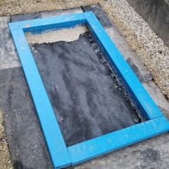 設置箇所は大事/水捌け/DIY/手作り/砂場 砂場、その後①  完成した砂場ですが、 …