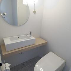 トイレ/ホテルライク/ラグジュアリー/リノベーション/コンバージョン/住まいつくり そう、ホテルライクでラグジュアリーな空間…