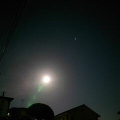 フラワームーン 満月撮れました🌕