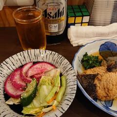 ひとり飲み/居酒屋風カウンター/お出かけ 昨夜はひとり飲み満喫(^ー^)