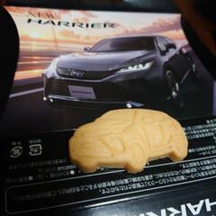 車型クッキー/トヨタお土産 点検の帰りにもらいました! なかなかのク…