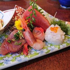 刺身/寿司/おでかけ 消してしまったので(^-^;再度投稿しま…