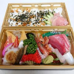 コロナに負けるな/お寿司大好き/テイクアウト/おうちごはん 今日の飲食店応援キャンペーンは、大好きな…