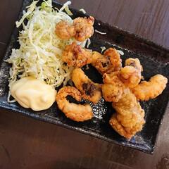 タコの唐揚げ/カットステーキ/日本酒/焼き鳥/スタミナご飯 昨夜も美味しく頂きました😋(4枚目)