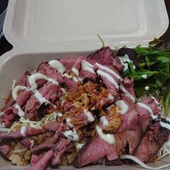 タコライス/ローストビーフオーバーライス/スタミナご飯 今日のお昼はテイクアウト😋