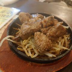 タコの唐揚げ/カットステーキ/日本酒/焼き鳥/スタミナご飯 昨夜も美味しく頂きました😋(3枚目)