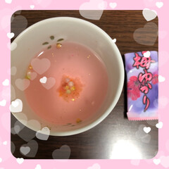 さっぱり味/梅ゆかり/山梨/ピンク 山梨で買ってきた梅ゆかり ピンク色がとっ…