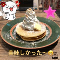 パンケーキ/横浜/令和の一枚/フォロー大歓迎/LIMIAペット同好会/わんこ同好会/... 昨日、友達と一緒に横浜で食べたパンケーキ…