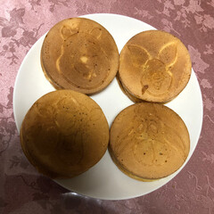 甘味処 何年ぶりかに、今川焼作りました。 くまの…