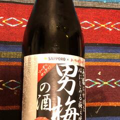 紫蘇の味/おすすめのお酒/次のコンテストはコレだ!/おすすめアイテム/フォロー大歓迎 男梅の酒 友達に教えてもらって買ってみた…