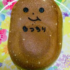 和菓子/食べ物/つぶあん/もっちり焼き 羽生駅西口ロータリー内にある「もっちり庵…