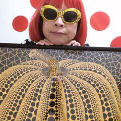 草間彌生/アート/ファッション 草間彌生さんの南瓜パズルが完成しました‼…