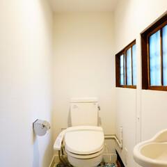 トイレ 麻布の長屋リノベーション  都会のど真ん…
