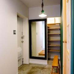 玄関/土間 築33年のマンションリノベーション。 ご…