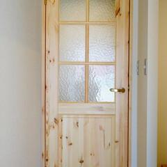 ドア 築33年のマンションリノベーション。 ご…