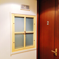 結露対策/内窓/二重窓/リフォーム/DIY/100均/... ついに6枚目の内窓完成。 今回はマスター…