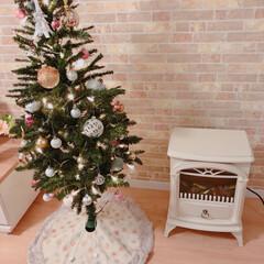 レンガ調壁紙/レンガ調/ヒーター/ファンヒーター/暖炉型ヒーター/暖炉型ファンヒーター/... ☆Merry Christmas Eve…